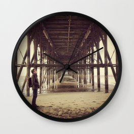 Under the Piers Wall Clock