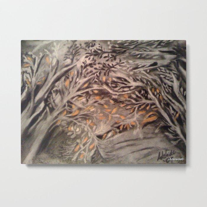 Tree Gazing Metal Print