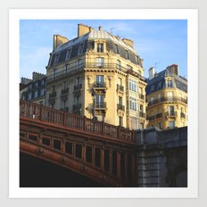 A little bit of Paris Art Print