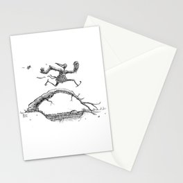On the Run Stationery Cards
