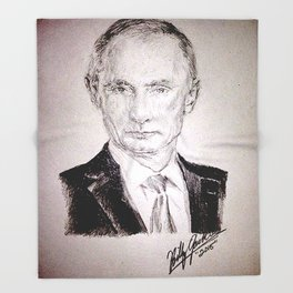 Putin Throw Blanket