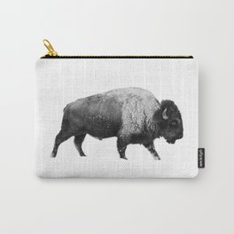 Bison, Buffalo Carry-All Pouch