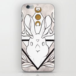 Lunar Rabbit / Jackalope iPhone Skin