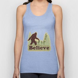 Bigfoot Believe Unisex Tank Top