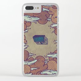 Away From Everyone Clear iPhone Case