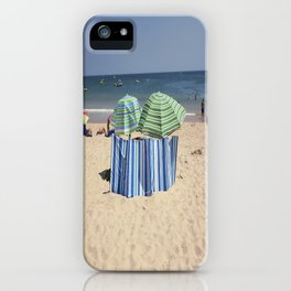 Twin Umbrella's and the Sun! iPhone Case