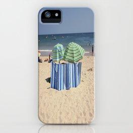 Twin Umbrella's and the Sun! iPhone Case