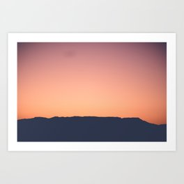 Over The Mountain Art Print
