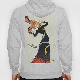"Henri de Toulouse-Lautrec ""Jane Avril"" Hoody"