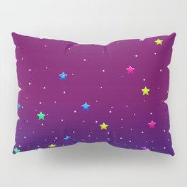 1997 Neon Rainbow Baphomet Pillow Sham