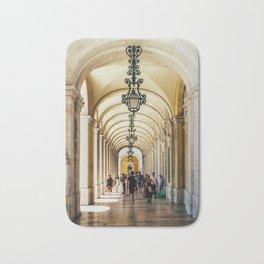 Rua Augusta Arch, Triumphal Arch In Lisbon Portugal, Wall Art Print, Modern Architecture Art, Poster Bath Mat
