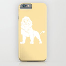 Lion Wild Sweet Funny Carnivore iPhone Case
