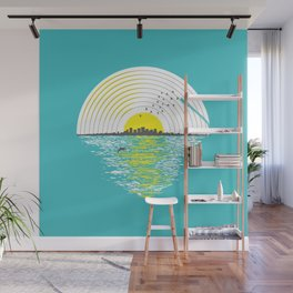 Morning Sounds Wall Mural