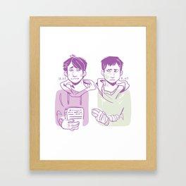 SPN Kevin Tran Framed Art Print