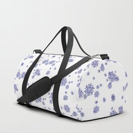 snowflake pattern 1 Duffle Bag