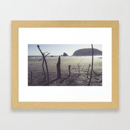 Sea Graves Framed Art Print
