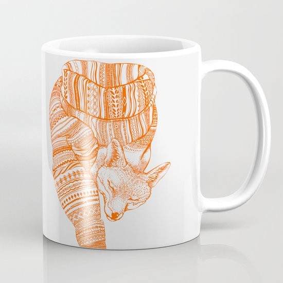 FOX IN THE SNOW Mug