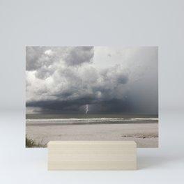 Storm at Sea Mini Art Print