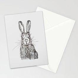 Original - hare illustration  Stationery Cards