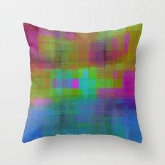 Blend#4 Throw Pillow