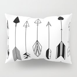 Be Brave Little Arrow Pillow Sham