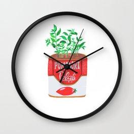 Pomodori Pelati Wall Clock