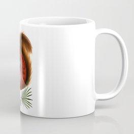 TinTin The Red Squirrel Coffee Mug