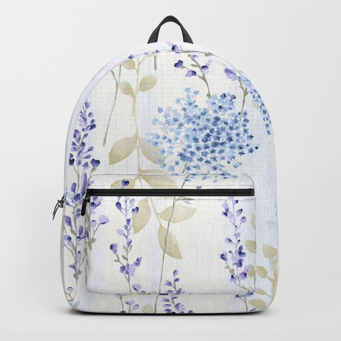 Delicate Floral Pattern 08 Backpack