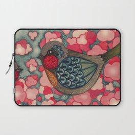 Blossom Birds Laptop Sleeve