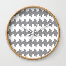 jaggered and staggered in alloy Wall Clock