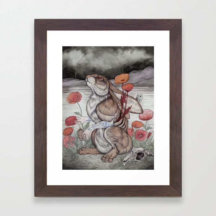 Ex Fortuna Framed Art Print
