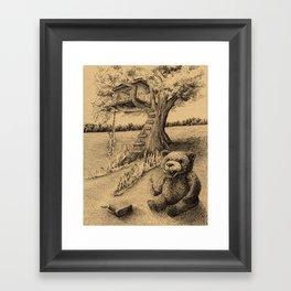 The Treehouse Framed Art Print