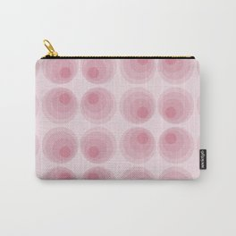 Space age wall art in pink: Venus Carry-All Pouch