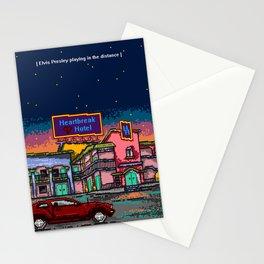 """""""Heartbreak hotel"""" Stationery Cards"""