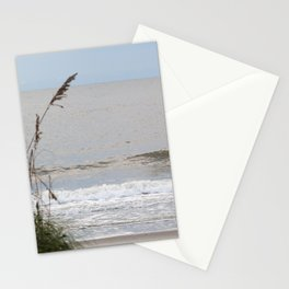 Sea Oats at the Ocean Stationery Cards