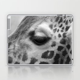 Eye of giraffe - mono Laptop & iPad Skin