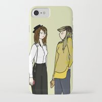 ombre iPhone & iPod Cases featuring Ombre by 1hugaday