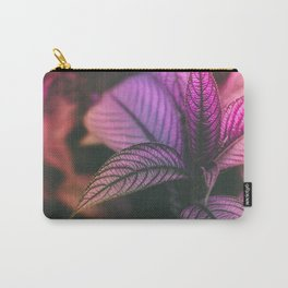 Violet Ladder Carry-All Pouch