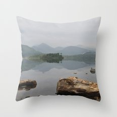 Derwentwater, Lake District Throw Pillow