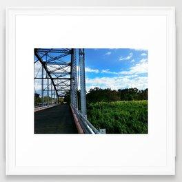 Old Añasco Bridge Framed Art Print