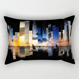 Sunsets and Beaches Rectangular Pillow