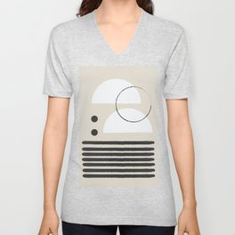 Abstract Modern Art Unisex V-Neck