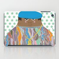 biggie smalls iPad Cases featuring Biggie by Late Greats by Chen Reichert