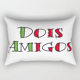 Dois Amigos Rectangular Pillow