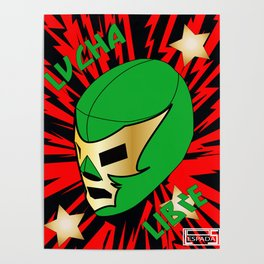 Mucha Lucha Poster