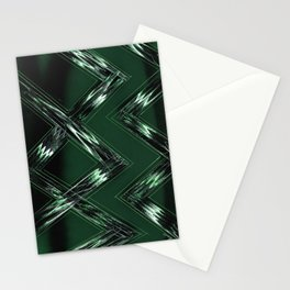 Pine Pattern Stationery Cards