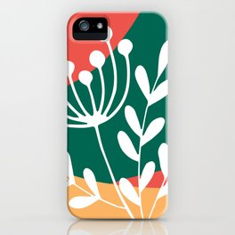 Nature Geometry 07 iPhone Case