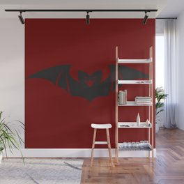 Love Gone Batty Wall Mural