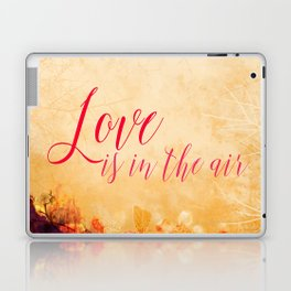 LOVE IS THE AIR Portrait Laptop & iPad Skin