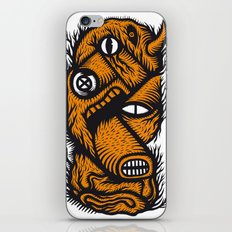 Le mangeur - the print! iPhone & iPod Skin